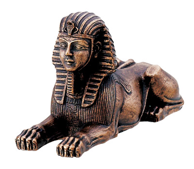 Small Sphinx Bronze/Black Color