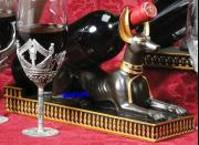 Wine Holder Anubis