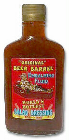 Embalming Fluid Salad Dressing