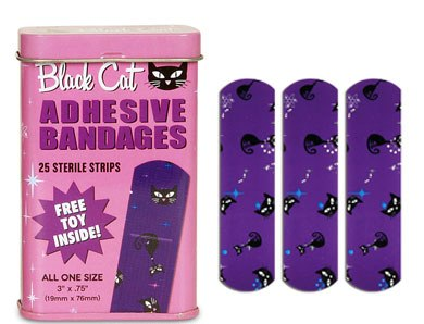 Black Cat Bandages-Rare!!!!