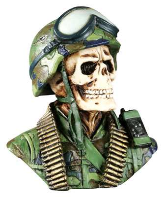 Born Killer Army Skull