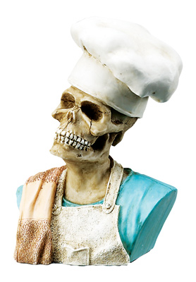 Chefs Skull-Rare, Hard To Find