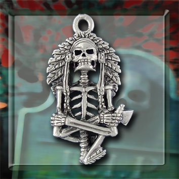 Skeleton Chief Necklace