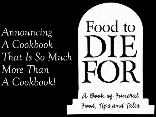 Food To Die For Cookbook-Autographed-Discontinued