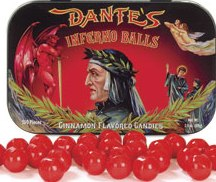 Dantes Inferno Balls Sold Out