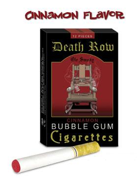 Death Row Bubblegum Cigarettes