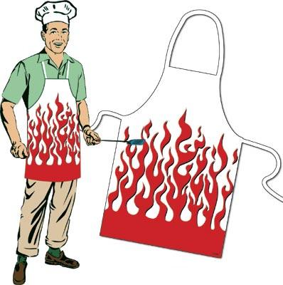 Flaming Apron-Discontinued