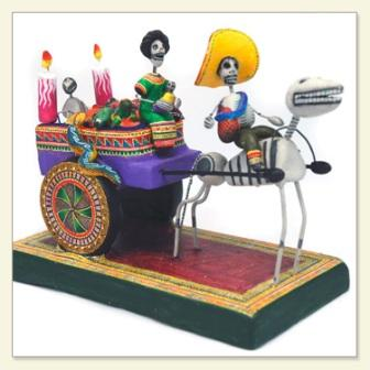 Day of the Dead Death Cart