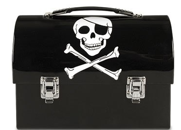 Pirate Rounded Lunch Box