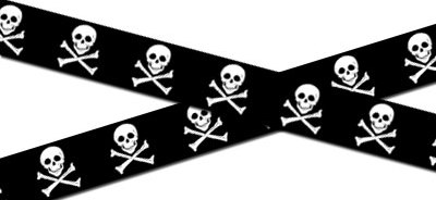 Skull Tape / Pirate Tape-Now Rare and Hard to Find