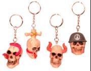 Skull Key Chain Set