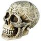 Celtic Skull Paperweight